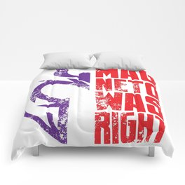 Magneto Was Right! Comforters