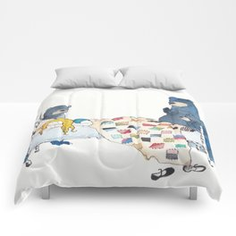 The Bears and Goldilocks Comforters