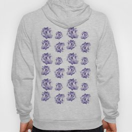 Purple Roses Hoody