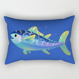 Atlantic Bluefin Tuna Rectangular Pillow