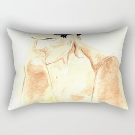 KISSING YOUR LEGS Rectangular Pillow