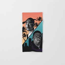 Rap Legends Hand & Bath Towel
