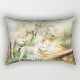 The Littlest Unicorn Rectangular Pillow