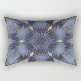 Unbelievable Mirror Mandala 5 Rectangular Pillow