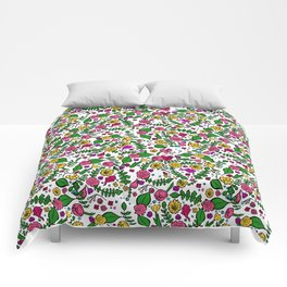 Cute Chintz Floral Pattern Comforters