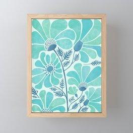 Himalayan Blue Poppies Framed Mini Art Print