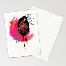 Fat Bird Demands Cake Stationery Cards