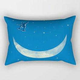 Moon Skater Rectangular Pillow