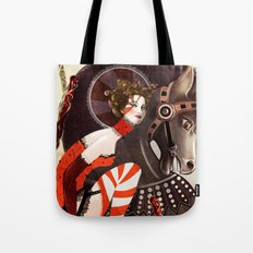 Amanda Palmer Six of Wands Tote Bag