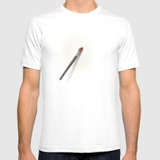 Blank Canvas - Painting SMALL Mens Fitted Tee White