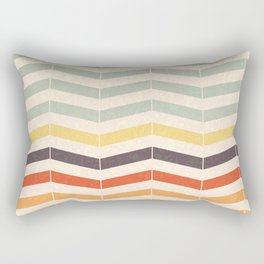 Vintage Chevron Rectangular Pillow