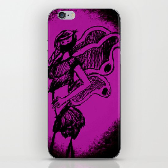 """Women with no faces--series """"Fairy iPhone & iPod Skin"""