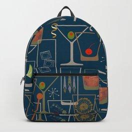 Mid-century Bar Cart Backpack