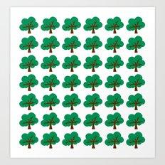 OAK TREE Art Print
