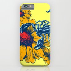 Scorpion Flowers Slim Case iPhone 6s