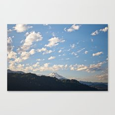 Mountain in the Clouds Canvas Print