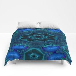 Battling At The Chasm Mandala 15 Comforters