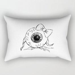 Eyeball Lady Rectangular Pillow