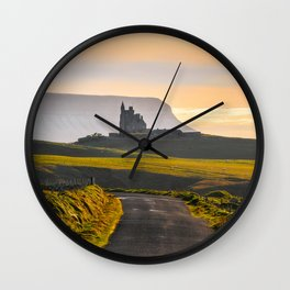 Classiebawn Castle in Sligo - Ireland Print (RR 263) Wall Clock
