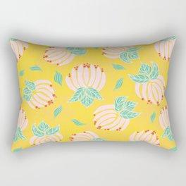 Blush Bloom Peony Lemon Rectangular Pillow