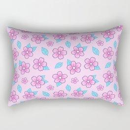 Sakura // Pink Rectangular Pillow