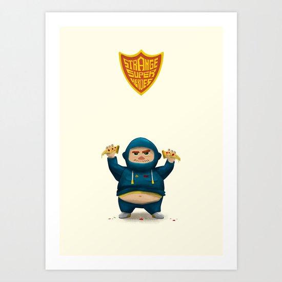 Fat Ninja Art Print