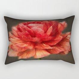 Glowing Orange Rectangular Pillow