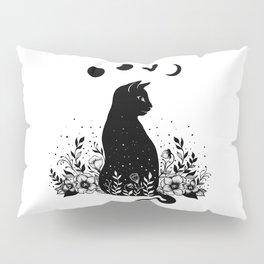 Night Garden Cat Pillow Sham