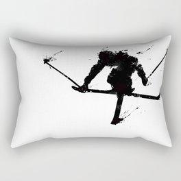Ski jumper Rectangular Pillow