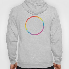 Pride: Rainbow Geometric Circle Hoody
