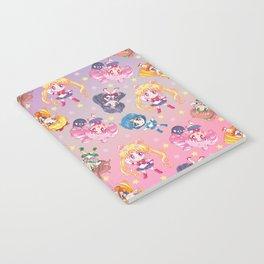 Chibis Crystal Pattern Notebook