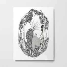 Forest Spirit Metal Print