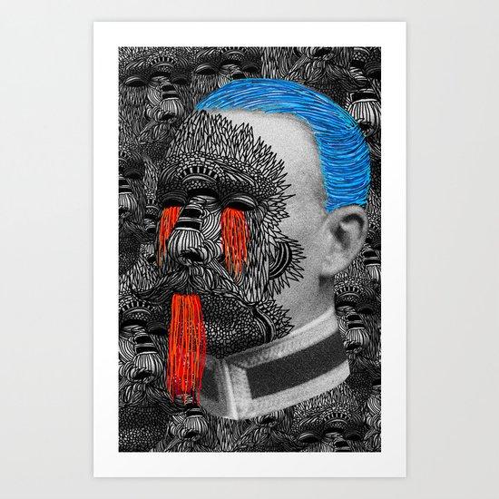 BRIGADIER II Art Print