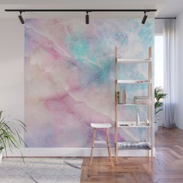 Iridescent marble Wall Mural