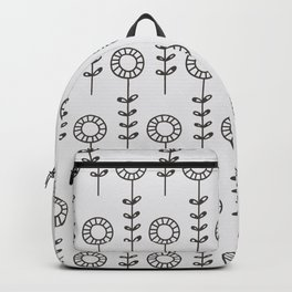 Sunflowers - gray Backpack
