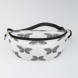 black butterfly Fanny Pack