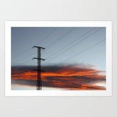 sky ii Art Print