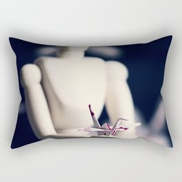 the gift Rectangular Pillow