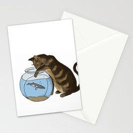 Oliver and the Minke Whale Stationery Cards