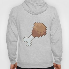 8 bit chicken Hoody