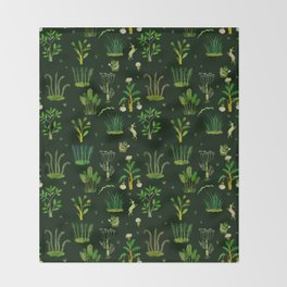 Bunny Forest Throw Blanket