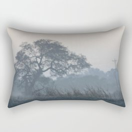 Foggy Morning Rectangular Pillow