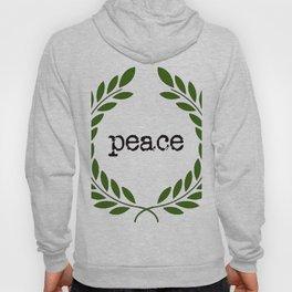 Farmhouse Peace wreath typography Hoody