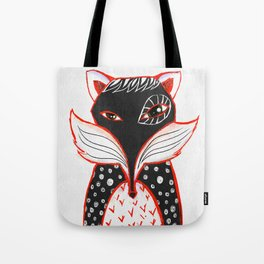 Kaleidoscope Fox Tote Bag
