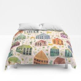 Cactus Town Comforters