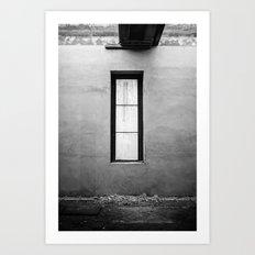 Lonely Window Art Print