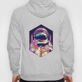 Space Explorer Scientist Galaxy Funny Astronauts Food Foodies Eating Gifts Hoody