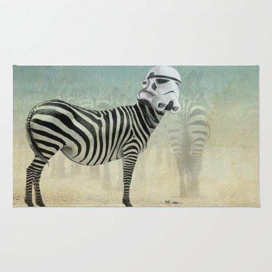 Trooper Stripes  _ Star Wars _ Zebra Rug