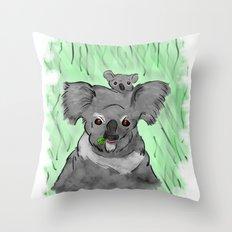 Koalas Throw Pillow