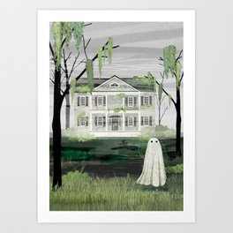 Walter's House Art Print